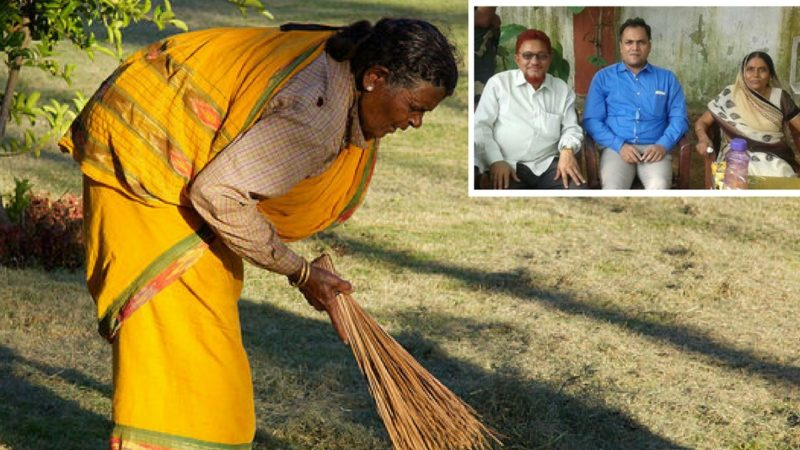 Sumithra Devi  – A Cleaner | Sons became IAS, doctor, and engineer.