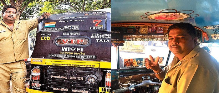 Auto Driver Helping Humans – Sandeep Bacche