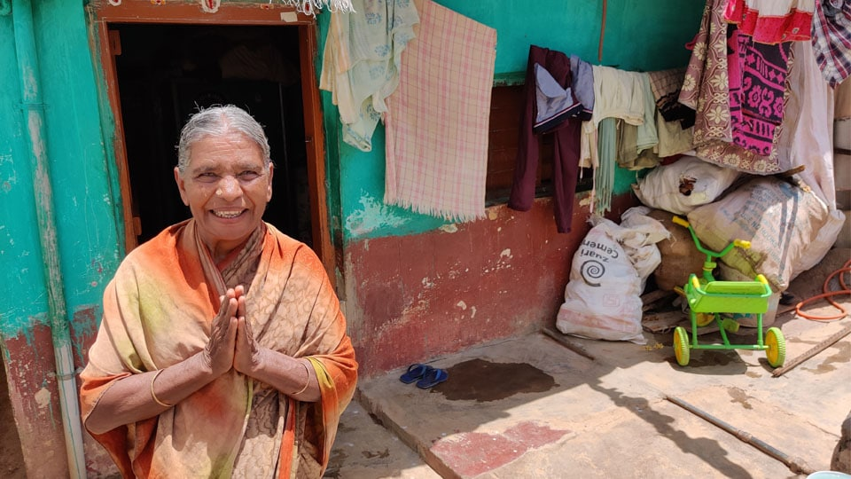 70-year-old Kamalamma Donates Rs. 500 Monthly Pension
